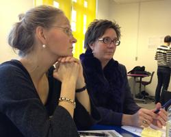 Birgitte Petersen og Lone L larsen KEA