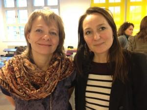 Hanne C Baumann og Maria Sara Jorsal KEA