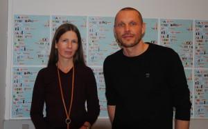 Katja Scherfiger og Michael Hald